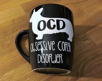 Corgi Mug Can Be Personailzed