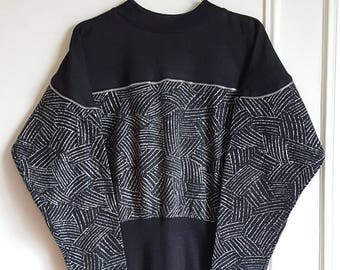 Vintage 80s Sweatshirt - 90 Made in France size s.
