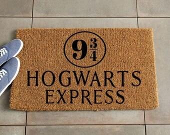 Alohomora Doormat Harry Potter Doormat Harry Potter