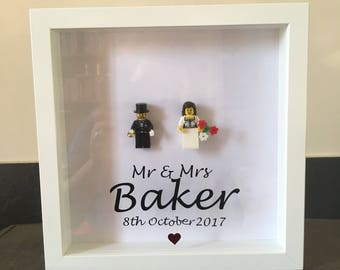 Lego Mr and Mrs Frame