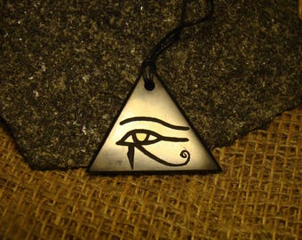 "The pendant ""Eye of Horus"" is shungite exclusive from Karelia."