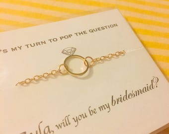 Will you be my bridesmaid? Necklace