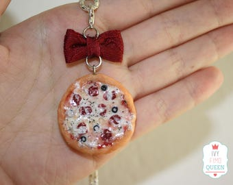 Pizza necklace!