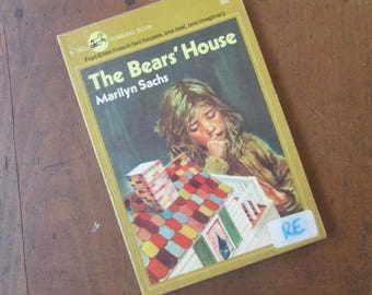 The Bear's House by Marilyn Sachs Young Adult Chapter Book 1976