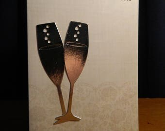 Congratulations engagement/wedding card