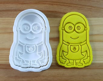 Minions Phil Cookie Cutter and Stamp