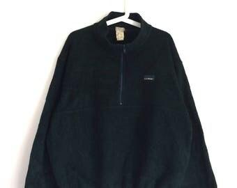 Vintage L.L BEAN fleece sweater sweatshirt