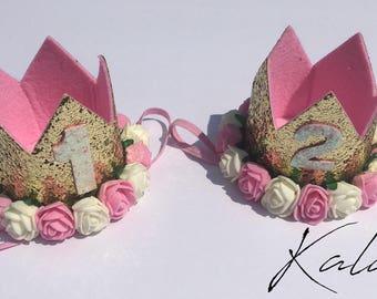 Girls Birthday Headband