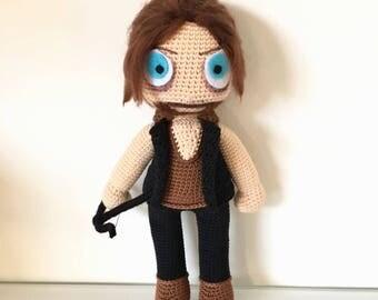 Daryl Dixon from Walking dead crochet pattern