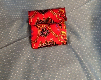 Bags  Clutch  Asian  Small  Red  Cultural  Accessories Purses