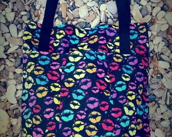 Fabric bag/bag with handles