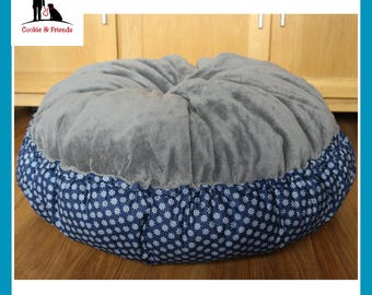 "Cosy dream bed ""Starboard ahead gray"", dog bed, pet bed, cat bed, pet bed"