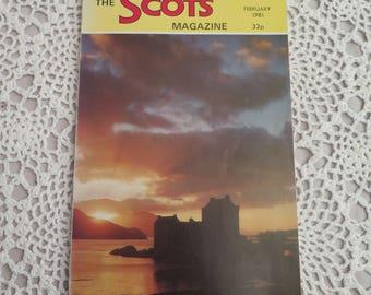 Vintage Edition of The Scots Magazine - February 1981 - Vintage Scottish Magazines - The Scots Magazine - Scottish Ephemera - Scottish Gifts