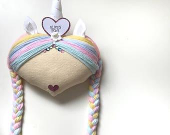Bow holder / headband holder. Unicorn multi
