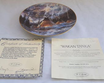 LTD EDITION - Julie Kramer Cole Indian - Touching Spirit - No 4 - Wanka Tanka