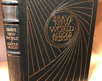 Easton Press Brave New World by Aldous Huxley 100 Greatest