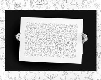 Illustration Cranatomie