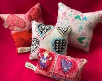 Summer Valentine Catnip Pillow