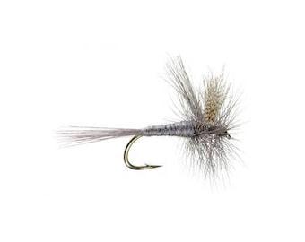 Fishing Flies - 4 Hendrickson Dry Flies - Sizes 10, 12, 14, 16