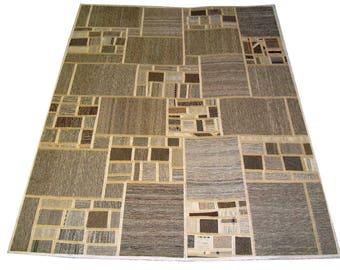 Persian Patchwork Kilim Rug PRH115, 148x198
