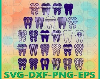 70% OFF, Tooth Monogram Files, Tooth Files, Tooth Svg Files, Dxf, Png, Eps File, Tooth Monogram Svg, Tooth Split-Monogram Svg, Silhouette