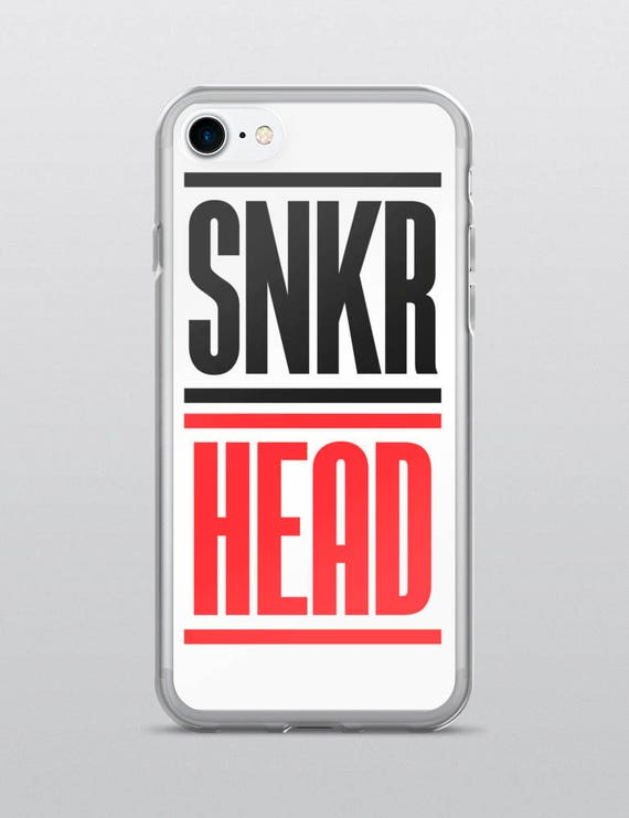 SNKR HEAD (White) | iPhone Case