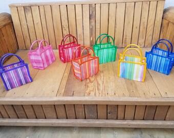 25 Small bags, Mercado Bag, Party Favor