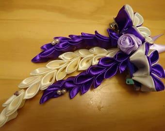 Pretty kanzashi hair clip
