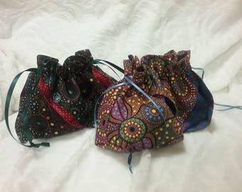 Gift bags//Cosmetic bags//Australian Art//bag and purses