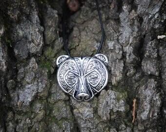 Bear Head Necklace