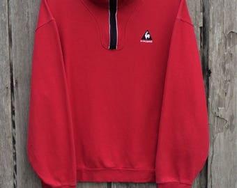Rare le coq sportif small logo Sweatshirt
