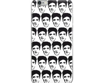 Elvis Funny Cute iPhone Case - Iphone 7 case - Iphone 8 case - Iphone 7 plus case - Iphone 6 case - Iphone X case