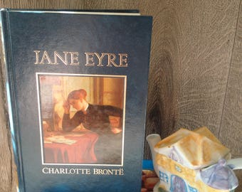 Brand New! 1980's Edition of JANE EYRE by CHARLOTTE Bronte // Last-century Jane Eyre Novel in Perfect Condition // Idea Gift For Reader