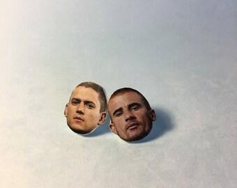 Prison Break Stud Earrings