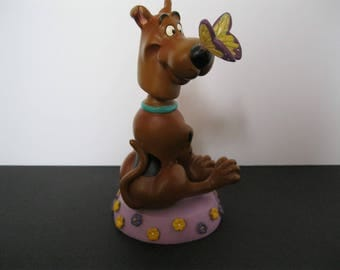 Scooby-Doo Bobble Head, Cartoon Dog Collectible, Warner Brothers Cartoon Network Promo