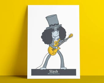 Poster MusicMonsters Slash