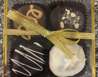 4 Piece Truffle Gift Box- Set of 4 Gift Boxes