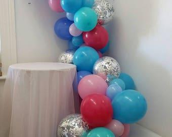 Balloon Garland, Balloon Vine, Balloon Decorations, D.I.Y. Balloon Decorating Kit, Baby Shower, Wedding Balloons, 21st, Birthday