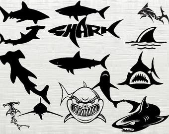 Shark Svg Etsy