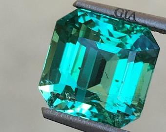 Zambia Emerald 4.33ct GIA