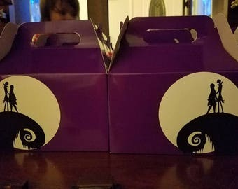 Nightmare before Christmas candy boxes (set of 12)