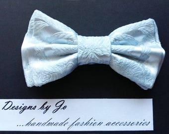 Mens Bow Tie, Formal Bow Tie, Suit Bowtie, Seafoam Blue Bow Tie, Prom Bow Tie, Wedding Bow Tie, Mens Fashion Accessories, Mens Bowtie M696