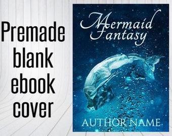 Premade Blank Ebook Cover - Mermaid Wave