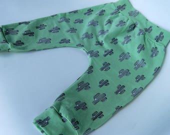 Cactus Green pants Harem/baggy