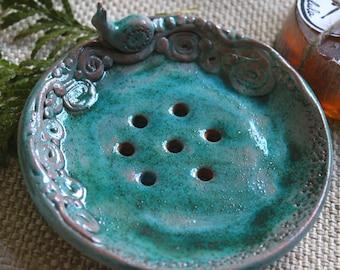Ceramic soap dish, Soap tray, Soap holder, Bathroom accessory, Handmade soap dish, Handmade ceramics, Pottery handmade, Gift for her