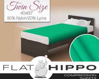 Twin bed compression sheets