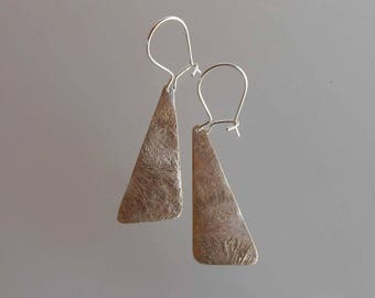 Earrings in bronze and silver Bo C0602
