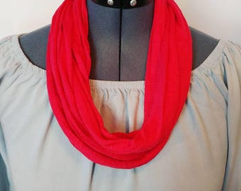 Red Mobius Scarf
