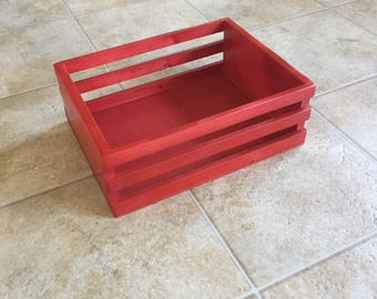 Custom Crate, Christmas Eve crate, christmas box, christmas eve box, christmas crate, Christmas Eve box, Classic Christmas Wood Crate