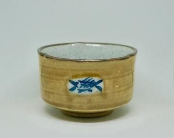 Japanese Ceramic Tea Bowl/Matcha Chawan/Japanese Pottery